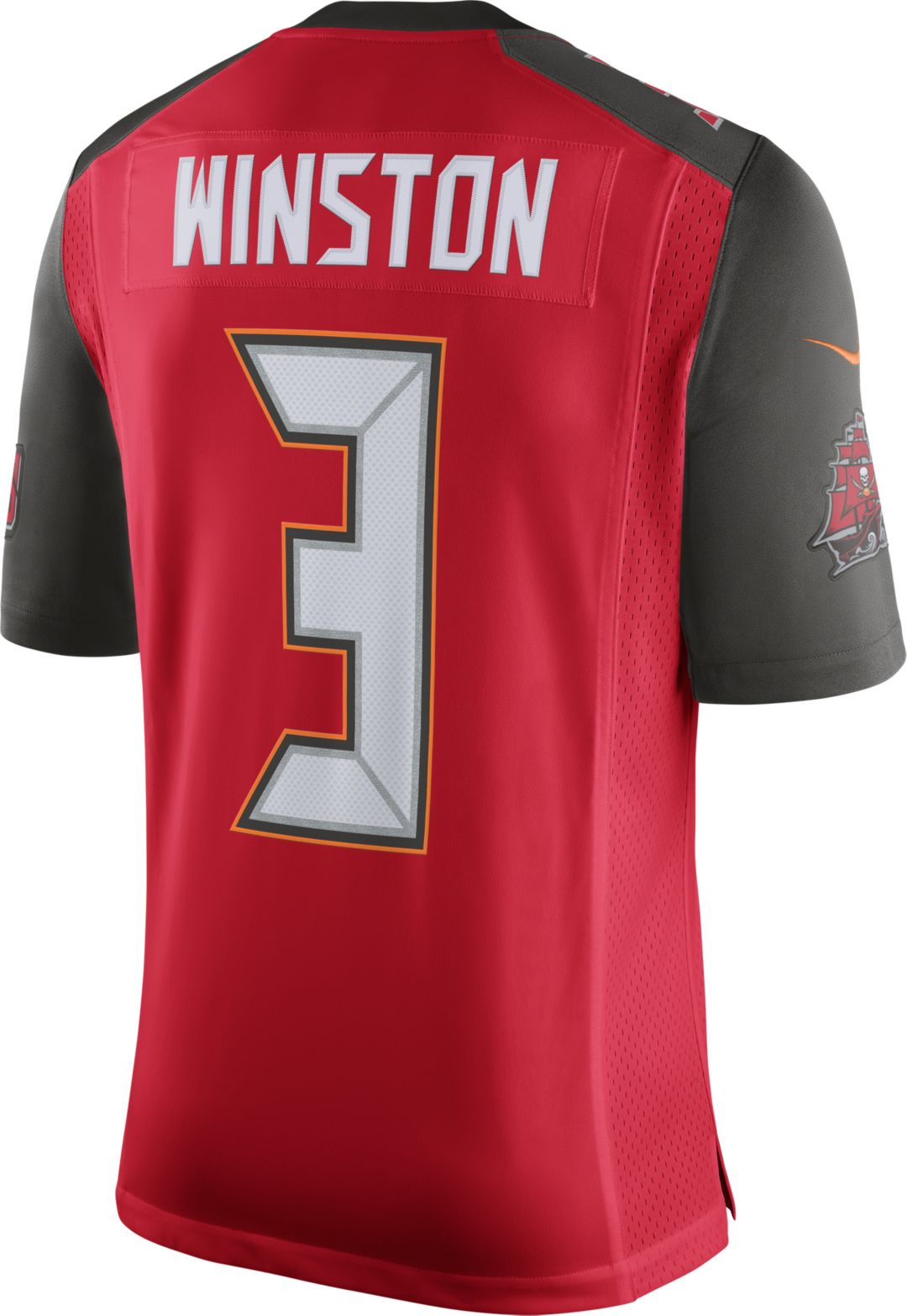 34aefc25 Nike Men's Home Limited Jersey Tampa Bay Buccaneers Jameis Winston #3