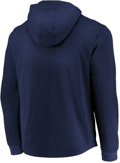 d6280e719 Majestic Men s Milwaukee Brewers Authentic Collection Batting Practice  Waffle Hooded Pullover. noImageFound. Previous. 1. 2