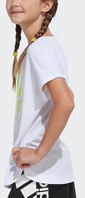 adidas Girls' Paint Drip Graphic T-Shirt product image