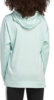 adidas Girls' Badge of Sport Mélange Fleece Hoodie product image