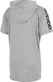 adidas Boys' Hooded Short Sleeve T-Shirt product image