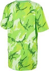 adidas Boys' Classic Camo Print T-Shirt product image