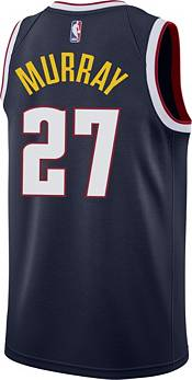 Nike Men's Denver Nuggets Jamal Murray #27 Navy Dri-FIT Swingman Jersey product image