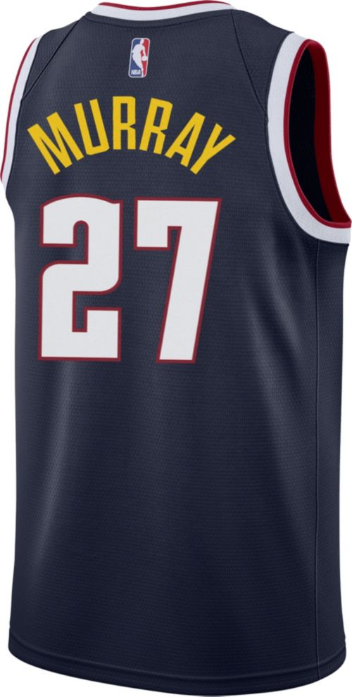 Nike Men s Denver Nuggets Jamal Murray  27 Navy Dri-FIT Swingman Jersey.  noImageFound. Previous. 1. 2. 3 2b3c8143e
