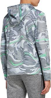 adidas Boys' Warp Camo Allover Print Pullover Hoodie product image