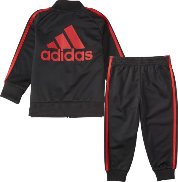 adidas Infant Boys' Classic Zip Front Tricot Jacket and Jogger Pants Set product image