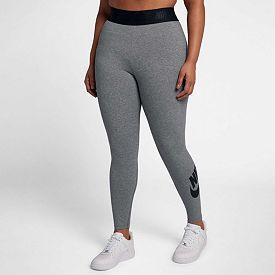 7f98aa8593cd5 Nike Women's Plus Size Sportswear High Waisted Leg-A-See Leggings ...
