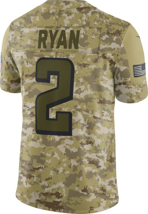 Nike Men s Salute to Service Atlanta Falcons Matt Ryan  2 Camouflage ... 96cf86af5