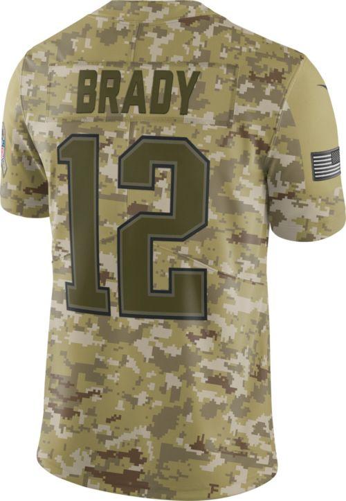 043ceb2d2bd Nike Men s Salute to Service New England Patriots Tom Brady  12 ...