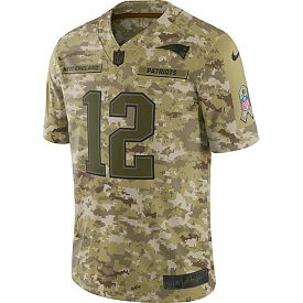 271d2ac45f8 Nike Men s Salute to Service New England Patriots Tom Brady  12 ...