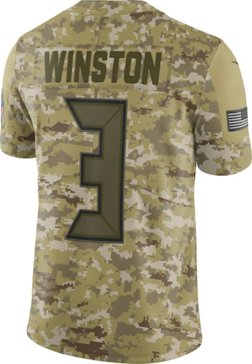 Nike Men s Salute to Service Tampa Bay Buccaneers Jameis Winston  3  Camouflage Limited Jersey. noImageFound. Previous. 1. 2. 3 774afe60c