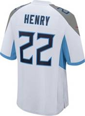 Nike Men's Tennessee Titans Derrick Henry #22 White Game Jersey product image