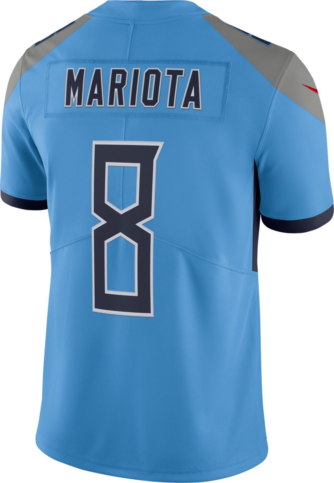 9fd4ba56 Nike Men's Color Rush Limited Jersey Tennessee Titans Marcus Mariota #8