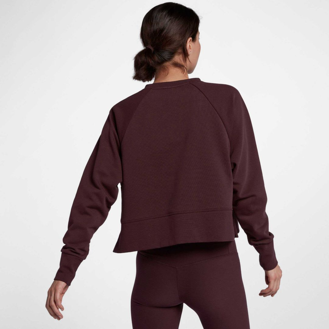 e86b41f9 Nike Women's Dri-FIT Cropped Training Pullover | DICK'S Sporting Goods