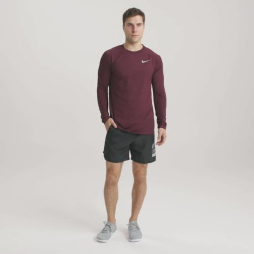 db141e851 Nike Men's Element Crew Running Long Sleeve Tee. noImageFound. Previous. 1.  2. 3