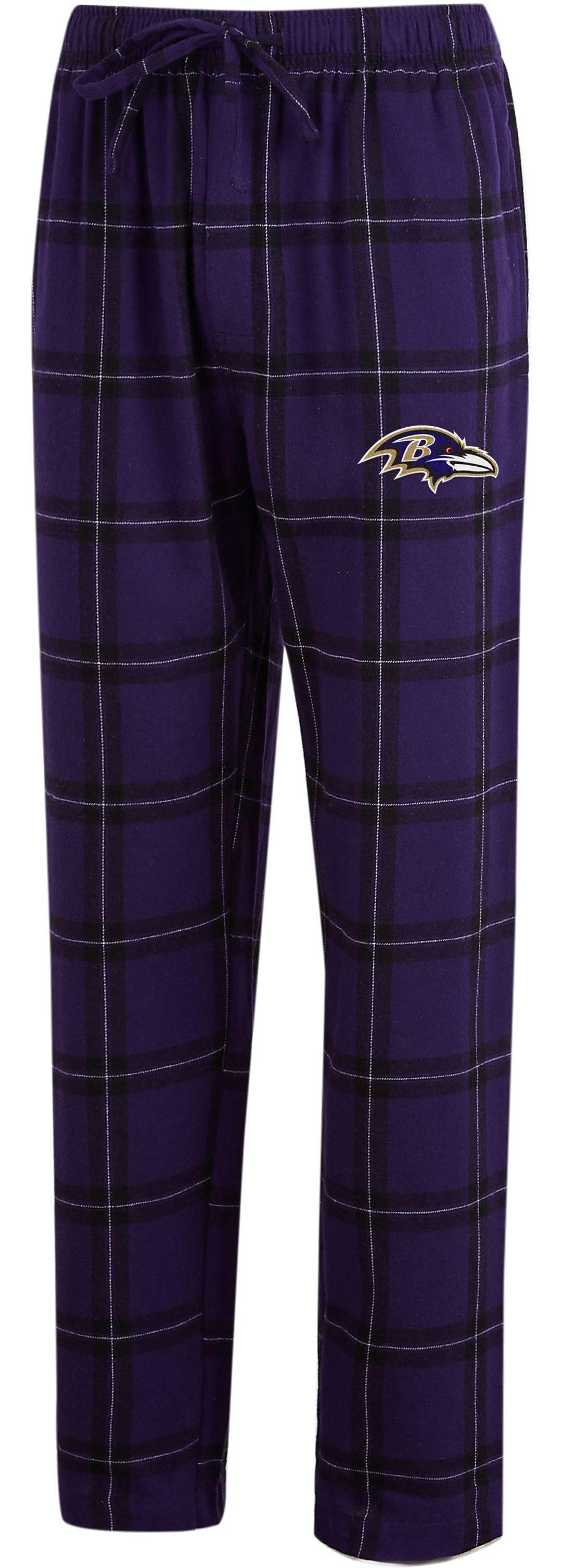 e33c2f14 Concepts Sport Men's Baltimore Ravens Homestretch Flannel Pants