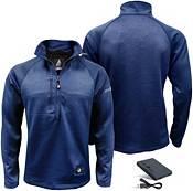 ActionHeat Men's 5V Battery Heated Half Zip Sweatshirt product image