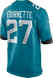 Nike Men's Jacksonville Jaguars Leonard Fournette #27 Teal Game Jersey product image