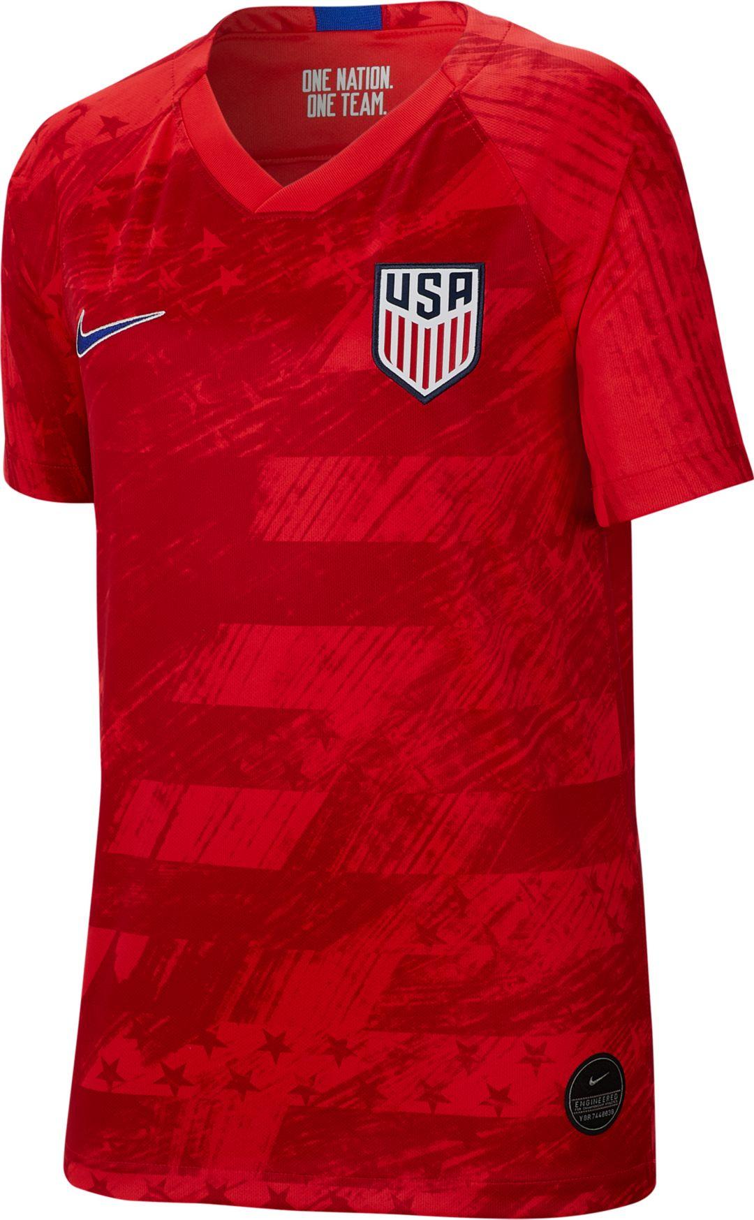 huge selection of 502de f1fa6 Nike Youth USA Soccer '19 Breathe Stadium Away Replica Jersey