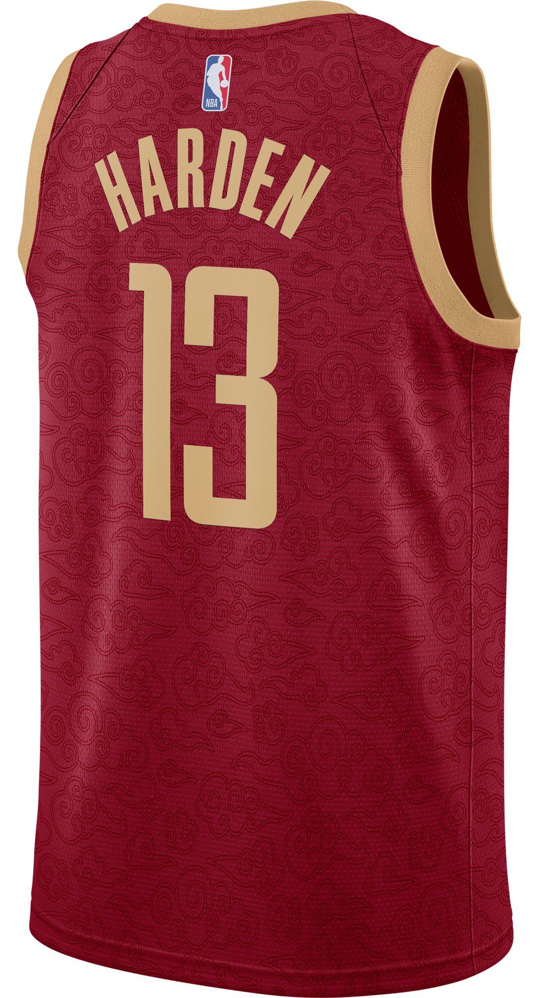 5b416197d Nike Men's Houston Rockets James Harden Dri-FIT City Edition Swingman Jersey.  noImageFound. Previous. 1. 2. 3