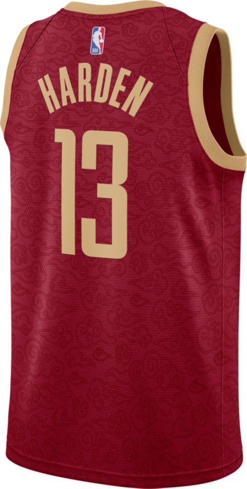 84aa2ead5 Nike Men s Houston Rockets James Harden Dri-FIT City Edition Swingman  Jersey. noImageFound. Previous. 1. 2. 3