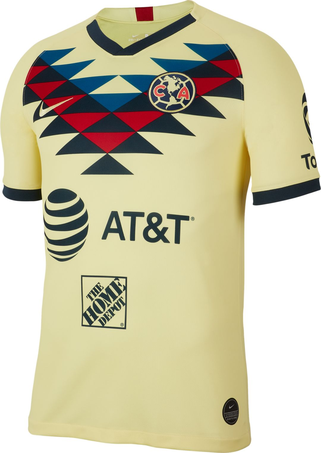 the best attitude 06212 fd8f3 Nike Men's Club America '19 Breathe Stadium Home Replica Jersey