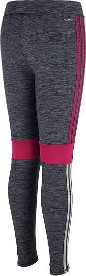 adidas Little Girls' climalite Melange Tights product image