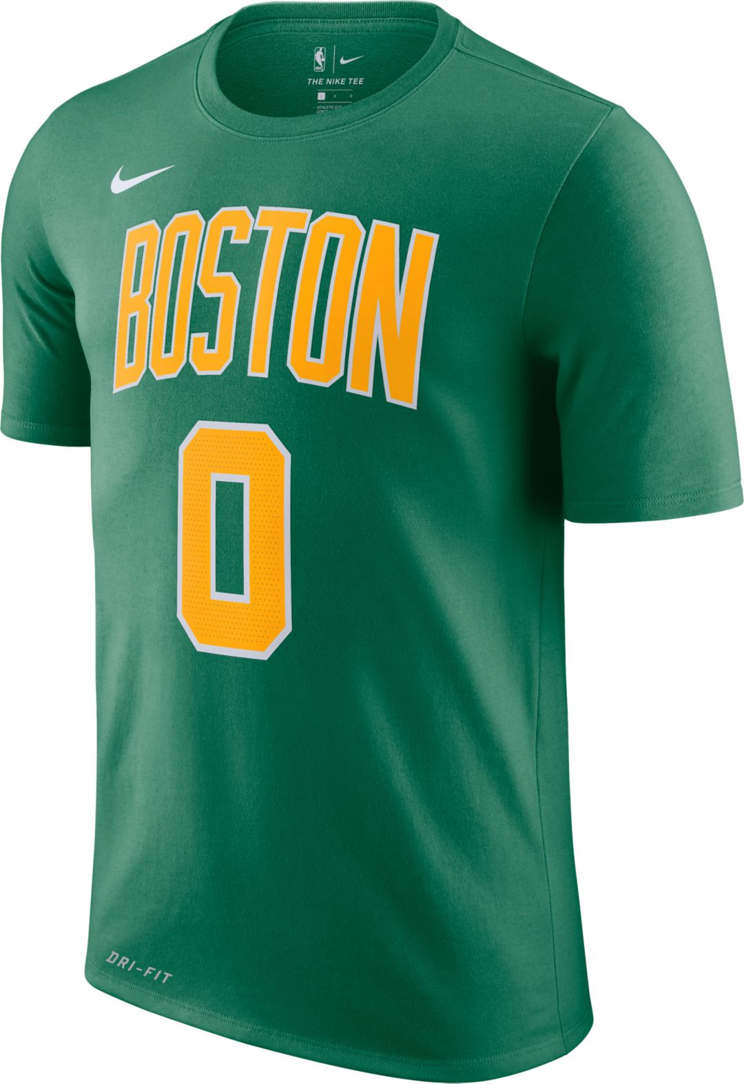 best sneakers fa83d ebeb2 Nike Men's Boston Celtics Jayson Tatum Dri-FIT Earned Edition T-Shirt