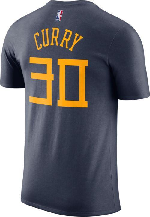 5314b47a8 Nike Men s Golden State Warriors Stephen Curry Dri-FIT City Edition T-Shirt.  noImageFound. Previous. 1. 2. 3