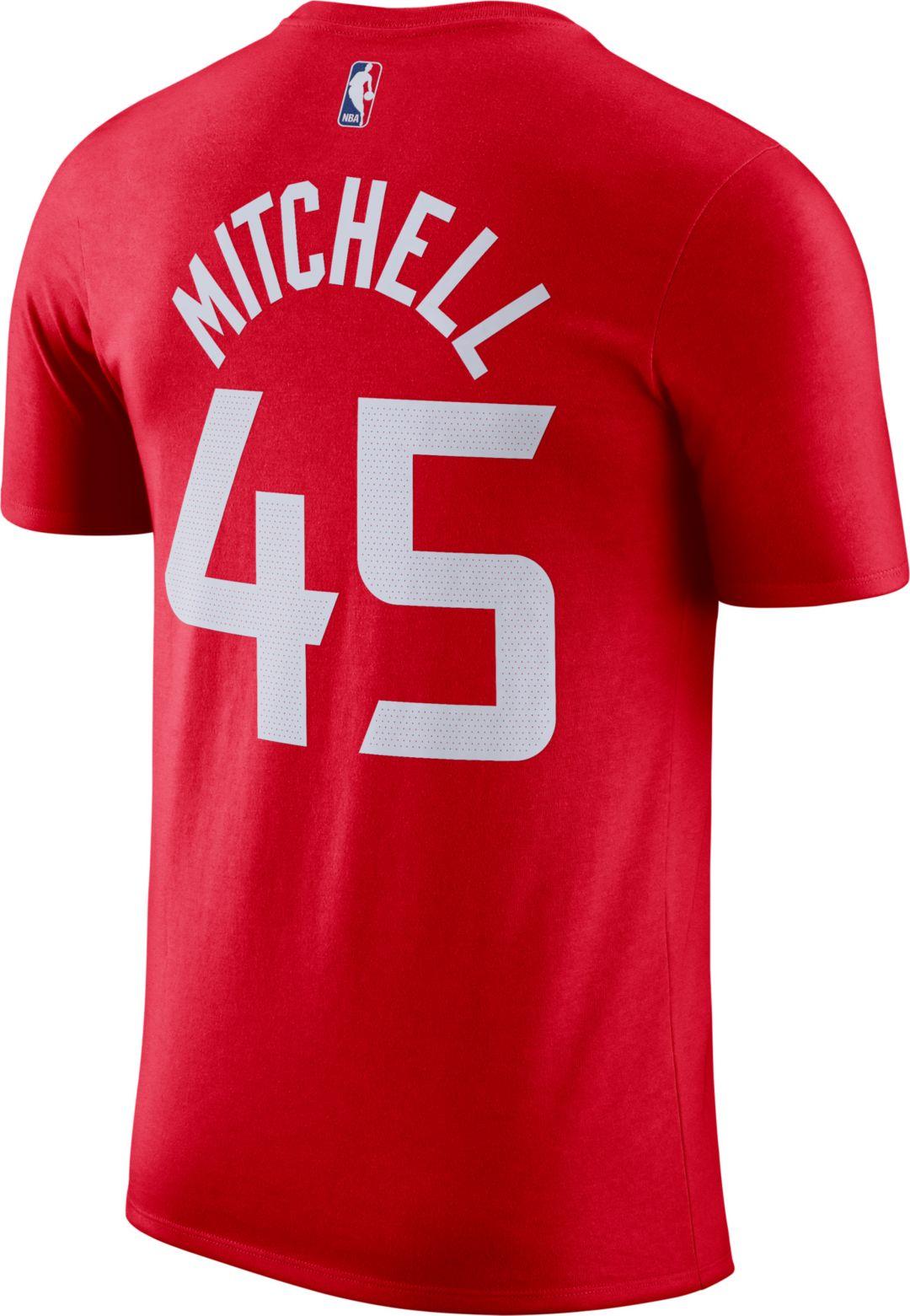 new product 91bf6 a6609 Nike Men's Utah Jazz Donovan Mitchell Dri-FIT City Edition T-Shirt