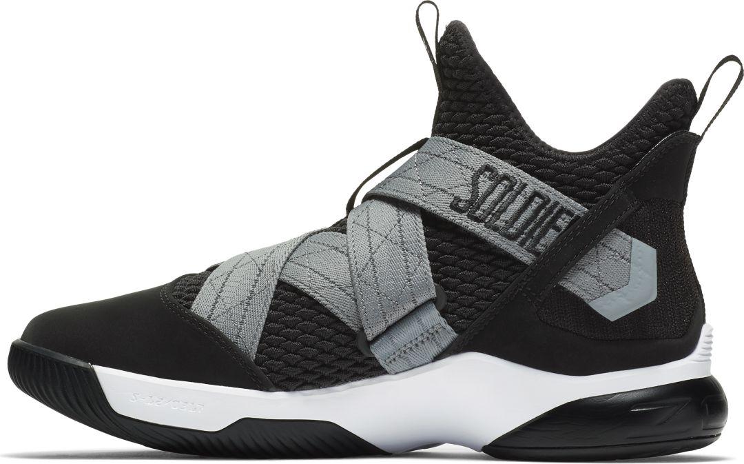 newest cc6f5 2092e Nike Zoom LeBron Soldier 12 SFG Basketball Shoes