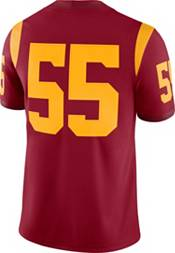 Nike Men's USC Trojans #55 Cardinal Dri-FIT Game Football Jersey product image