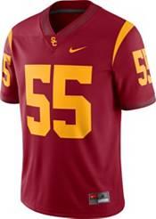 Nike Men's USC Trojans #55 Cardinal Dri-FIT Game Football Jersey product image
