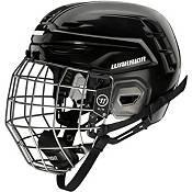 Warrior Senior Alpha One Pro Ice Hockey Helmet Combo product image