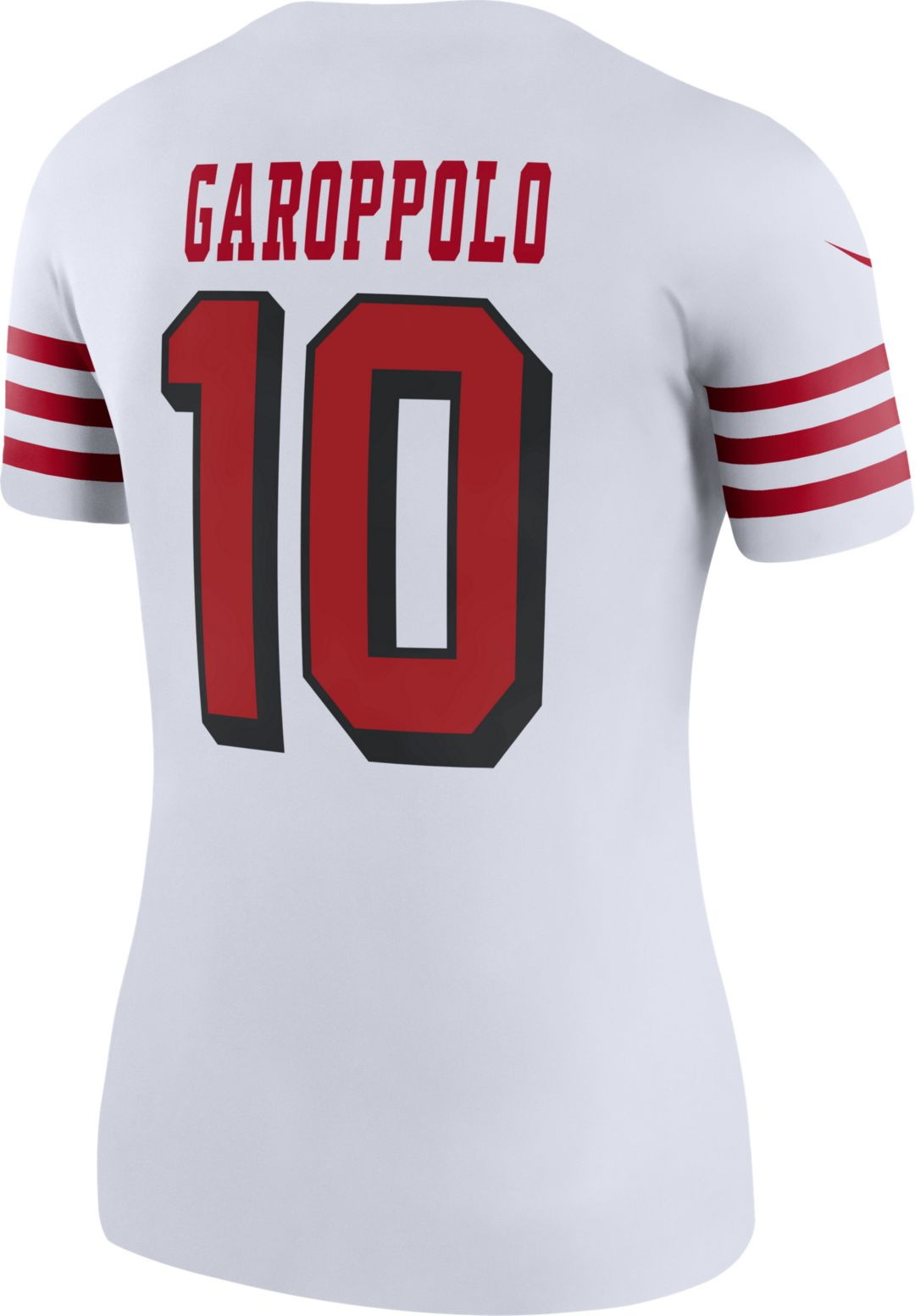 new arrival 57fdf 0e093 Nike Women's Color Rush Legend Jersey San Francisco 49ers Jimmy Garoppolo  #10