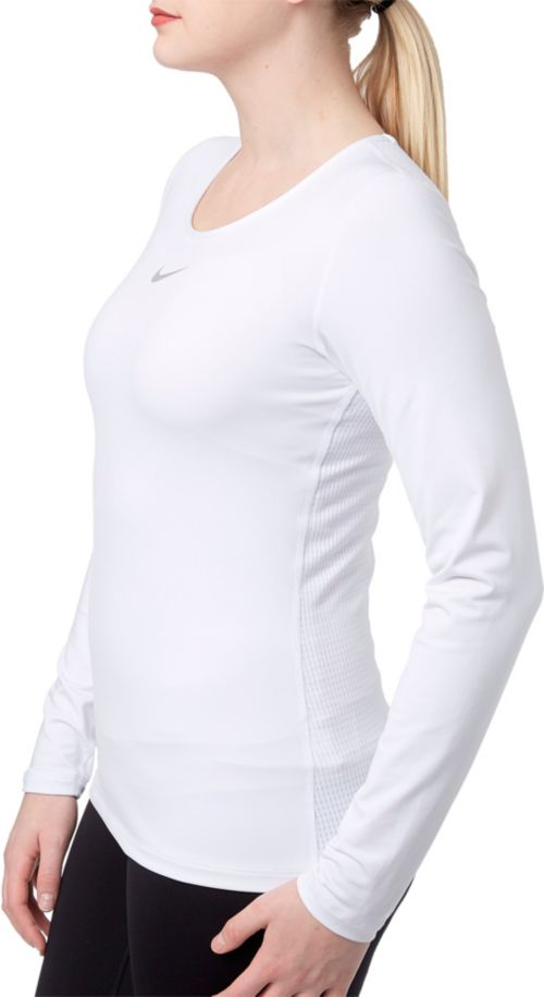 f34029f3 Nike Women's Pro Warm Long Sleeve Training Shirt. noImageFound. Previous.  1. 2. 3