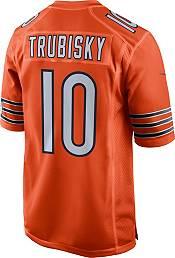 Nike Men's Chicago Bears Mitchell Trubisky #10 Orange Game Jersey product image