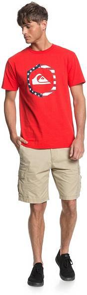 Quiksilver Men's Fourth Hexagon Logo Short Sleeve T-Shirt product image