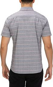 Hurley Men's Keanu Stripe Woven Short Sleeve Shirt product image
