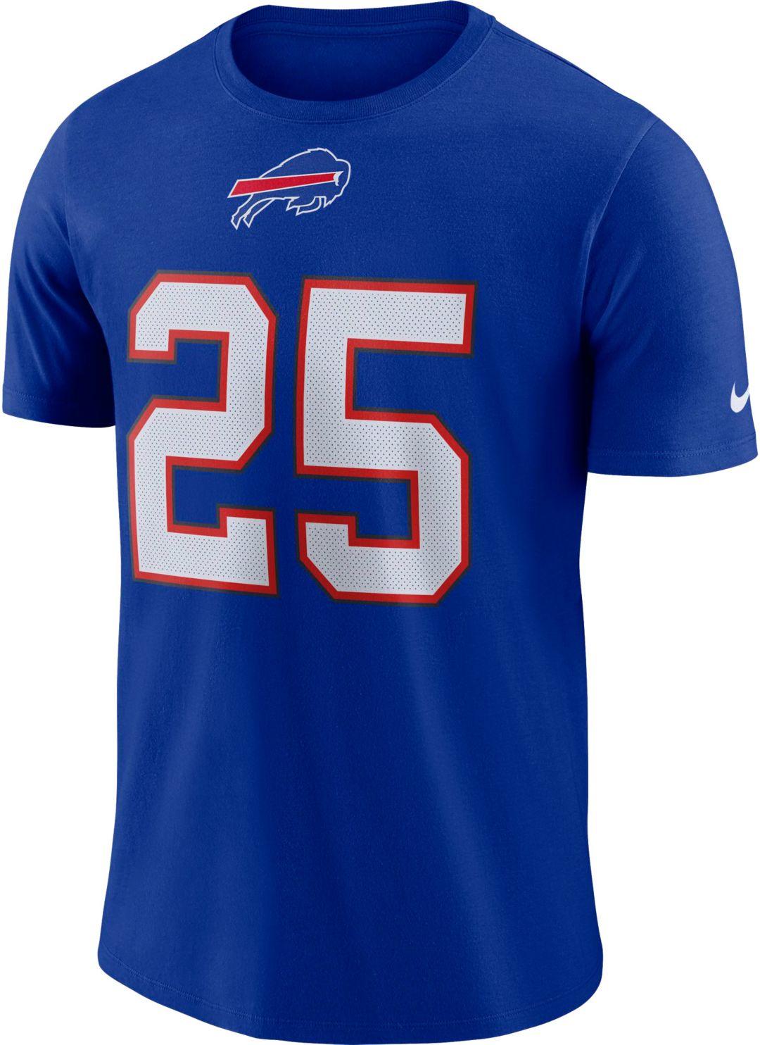 677340d1a7a54 LeSean McCoy #25 Nike Men's Buffalo Bills Pride Royal T-Shirt