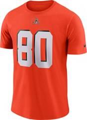 Nike Men's Cleveland Browns Jarvis Landry #80 Pride Logo Orange T-Shirt product image