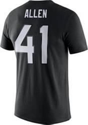 Nike Men's Jacksonville Jaguars Josh Allen #41 Logo Black T-Shirt product image