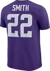 Nike Men's Minnesota Vikings Harrison Smith #22 Pride Logo Purple T-Shirt product image