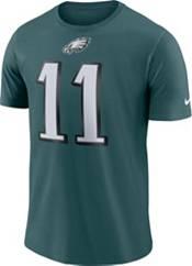 Carson Wentz #11 Nike Men's Philadelphia Eagles Pride Green T-Shirt product image