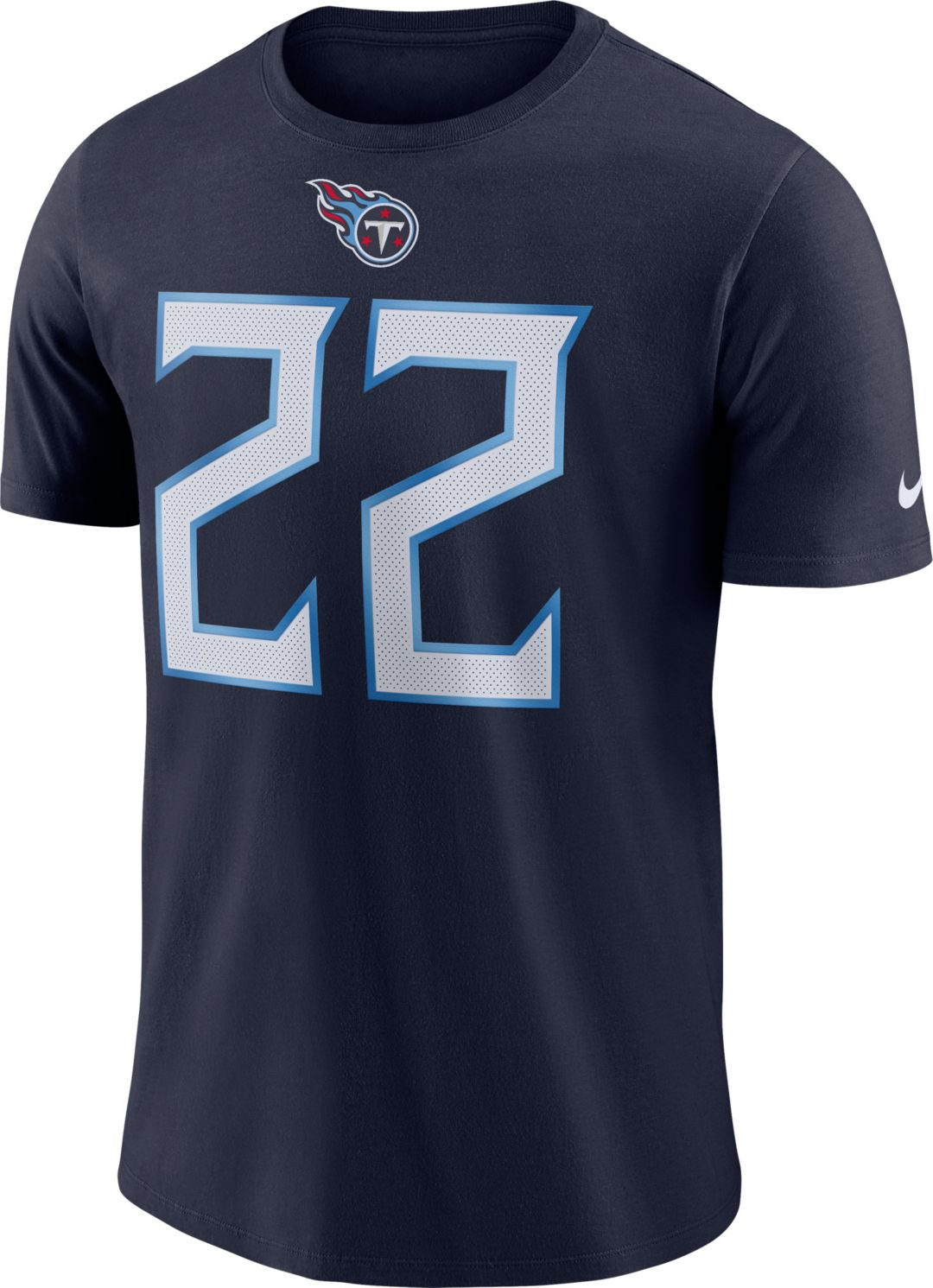 cheap for discount f5374 9a157 Nike Men's Tennessee Titans Derrick Henry #22 Pride Logo Navy T-Shirt