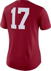 Nike Women's Alabama Crimson Tide #17 Crimson Dri-FIT Game Football Jersey product image