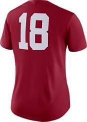 Nike Women's Alabama Crimson Tide #18 Crimson Dri-FIT Game Football Jersey product image