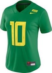 Nike Women's Oregon Ducks #10 Green Dri-FIT Game Football Jersey product image