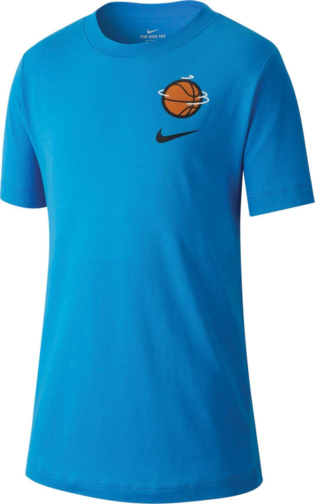 dc10937d7 Nike Boys' Sportswear Goat Basketball Graphic T-Shirt | DICK'S ...