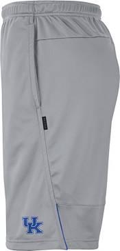 Nike Men's Kentucky Wildcats Grey Dri-FIT Coach Shorts product image